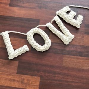 pottery barn Other - little love wall decor